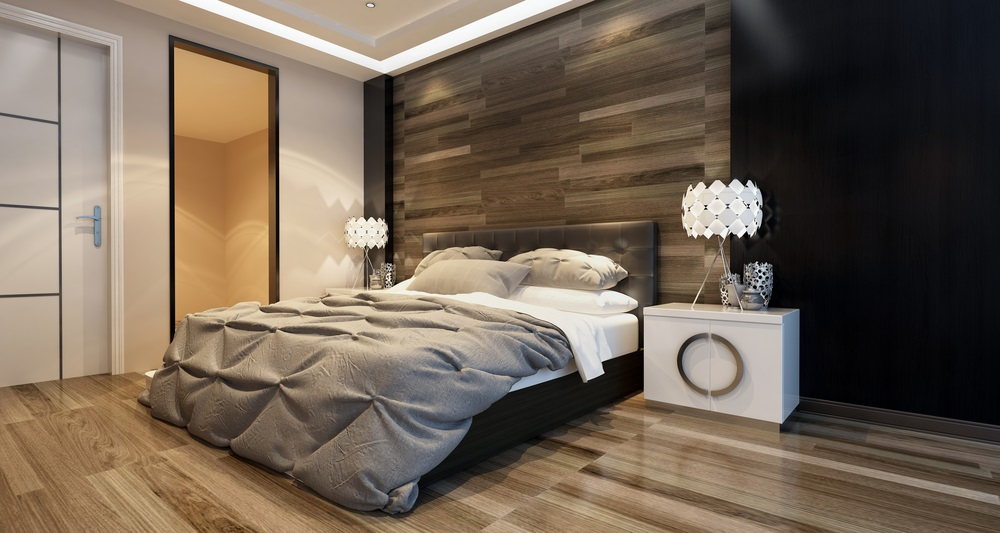bedroom with mattress