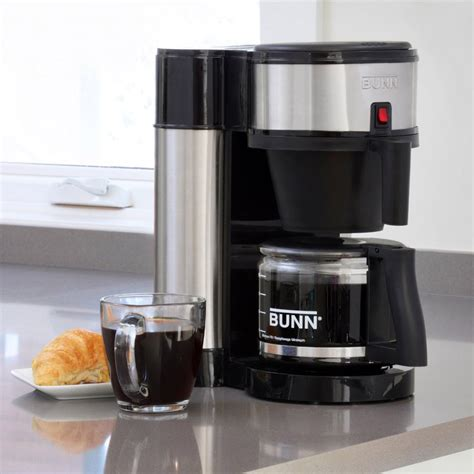 BUNN NHS Velocity Brew 10-Cup Home Coffee