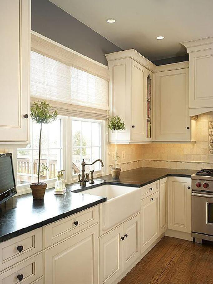 28 Antique White Kitchen Cabinets Ideas in 2019 - Remodel ...