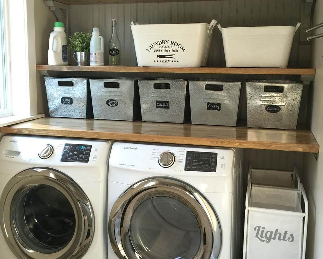 27 Stylish Basement Laundry Room Ideas For Your House Remodel Or Move