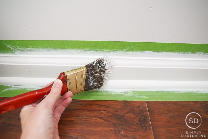 Paint Or Stain Baseboards