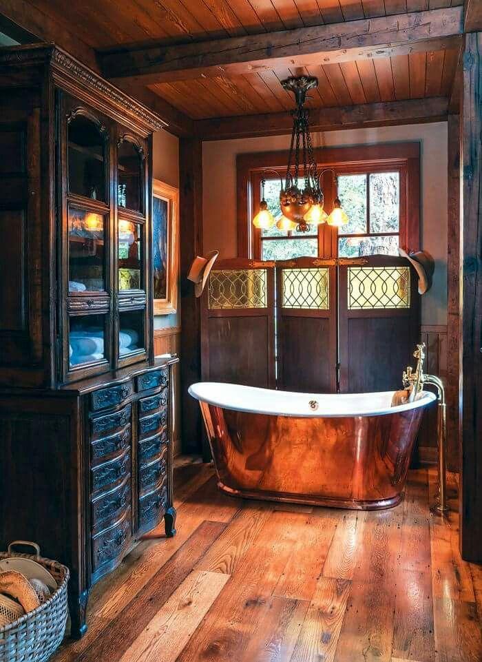 Steampunk Bathroom Copper