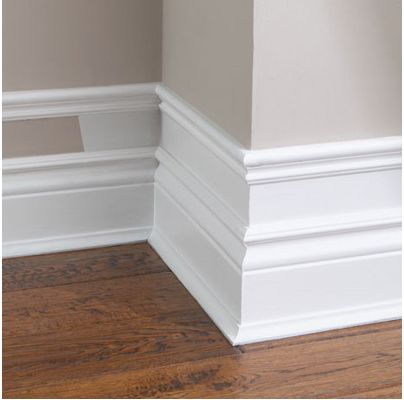 The Perfect Baseboard Trim Styles