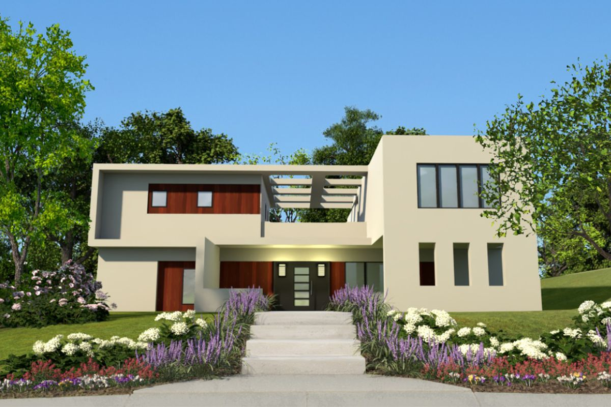 A blueprint or a plan for houses