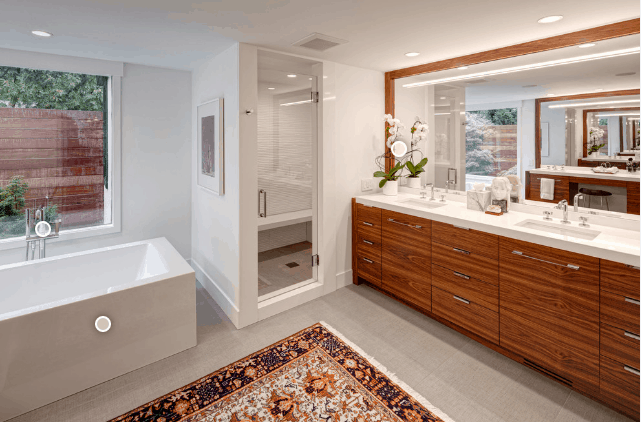 Mid-century Modern Bathroom Ideas