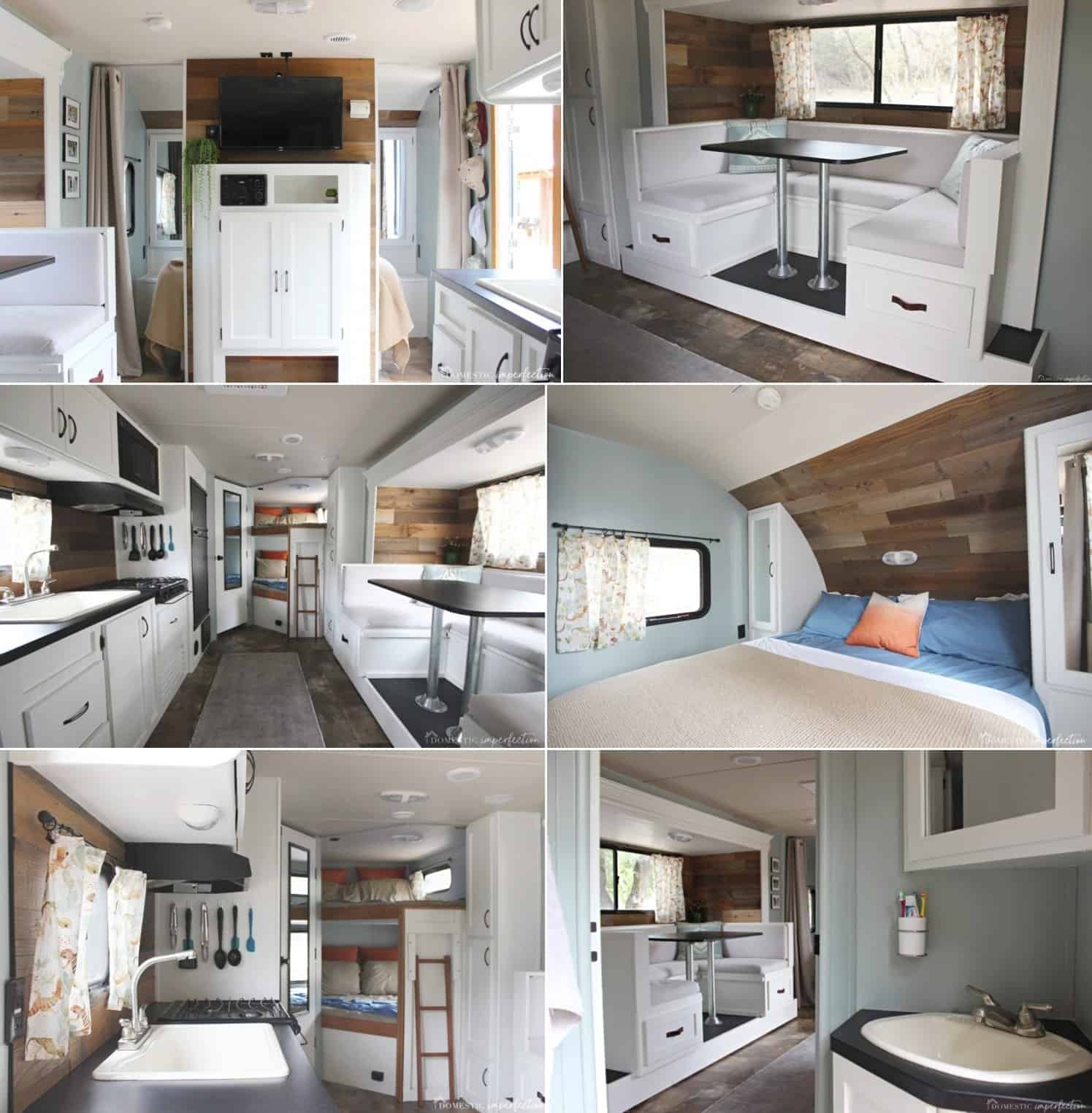An RV Remodel That Looks Like a Studio Apartment