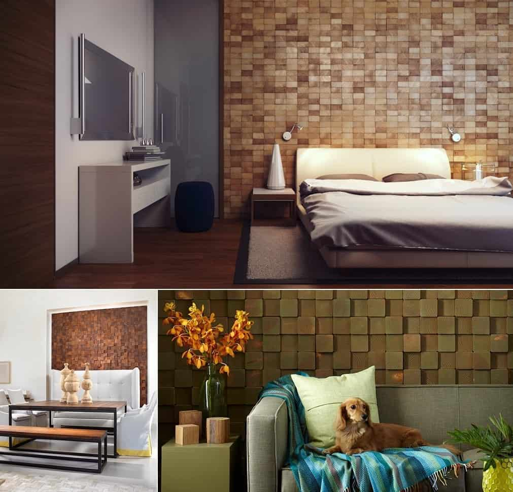 wood accent wall in your bedroom