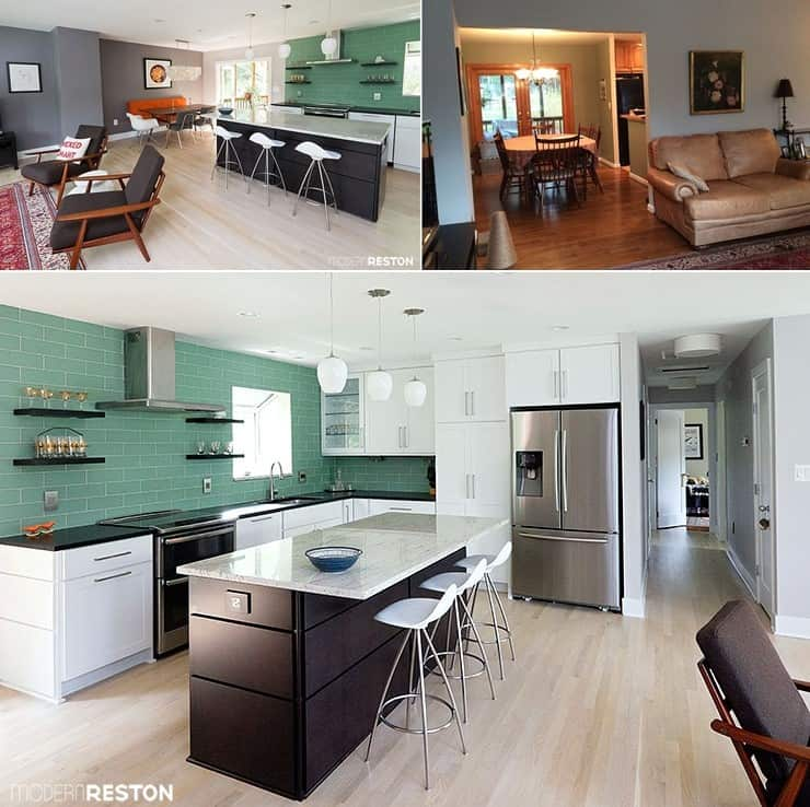 From A Cramped Split-Foyer House to An Open Plan Spacious House
