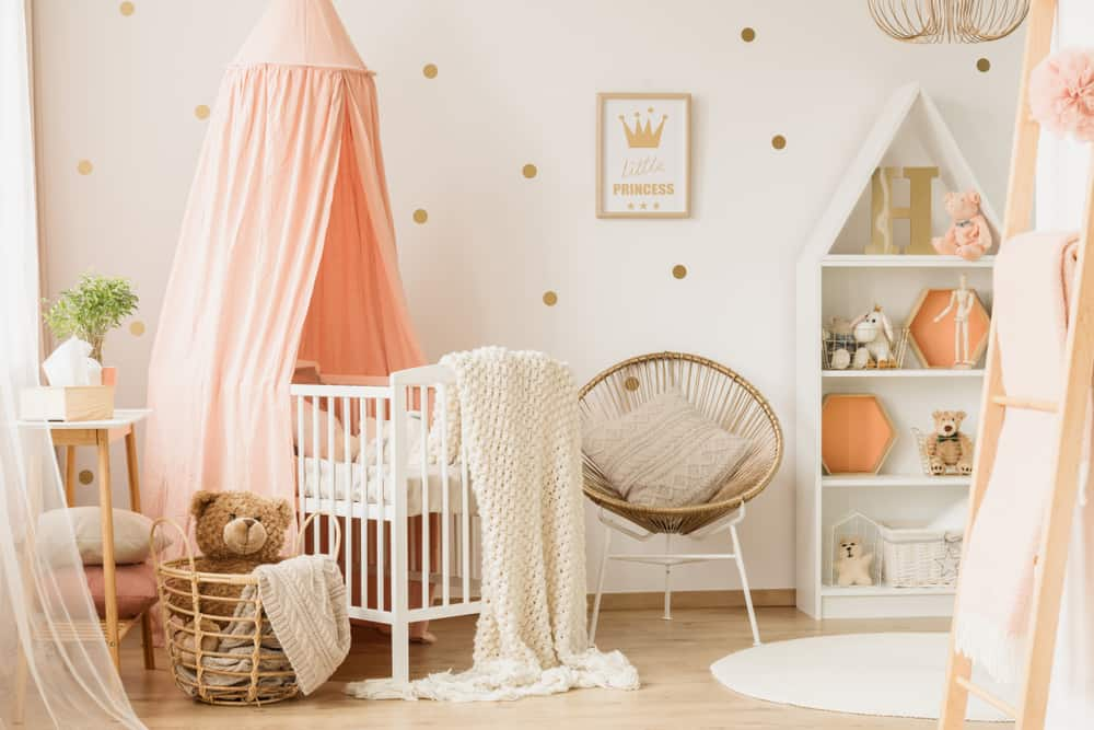 Baby Girl Bedroom Ideas - Remodel Or Move