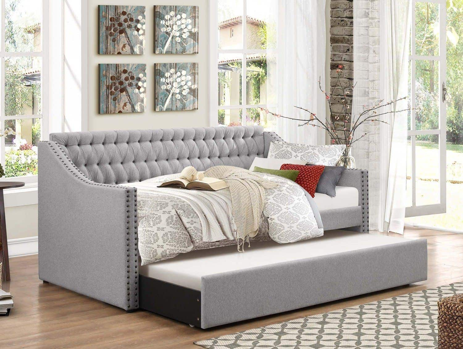A Daybed with a Trundle