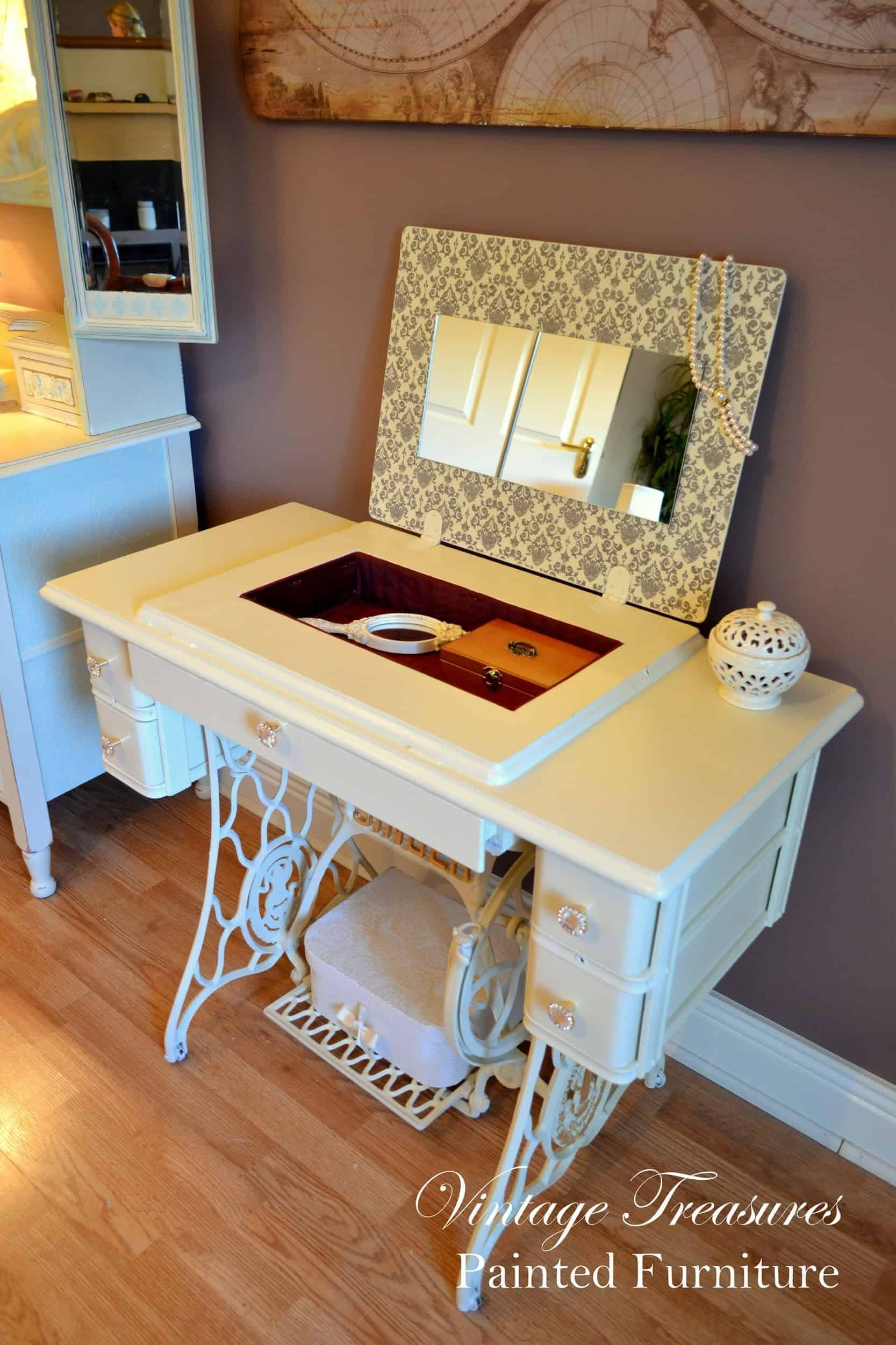 recycled-singer-sewing-machine-stand-vanity-table-2714603