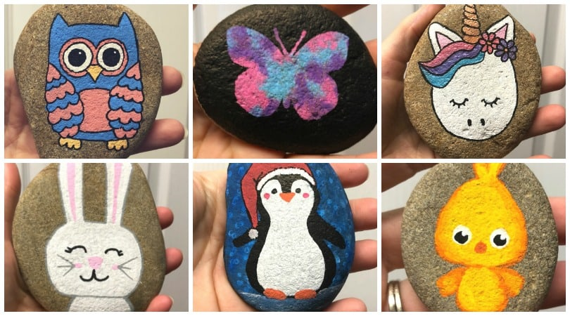20 Easy Rock Painting Ideas For Beginners Remodel Or Move