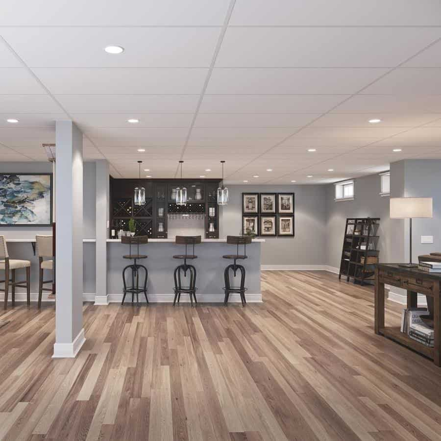20 Best Basement Ceiling Ideas Remodel Or Move