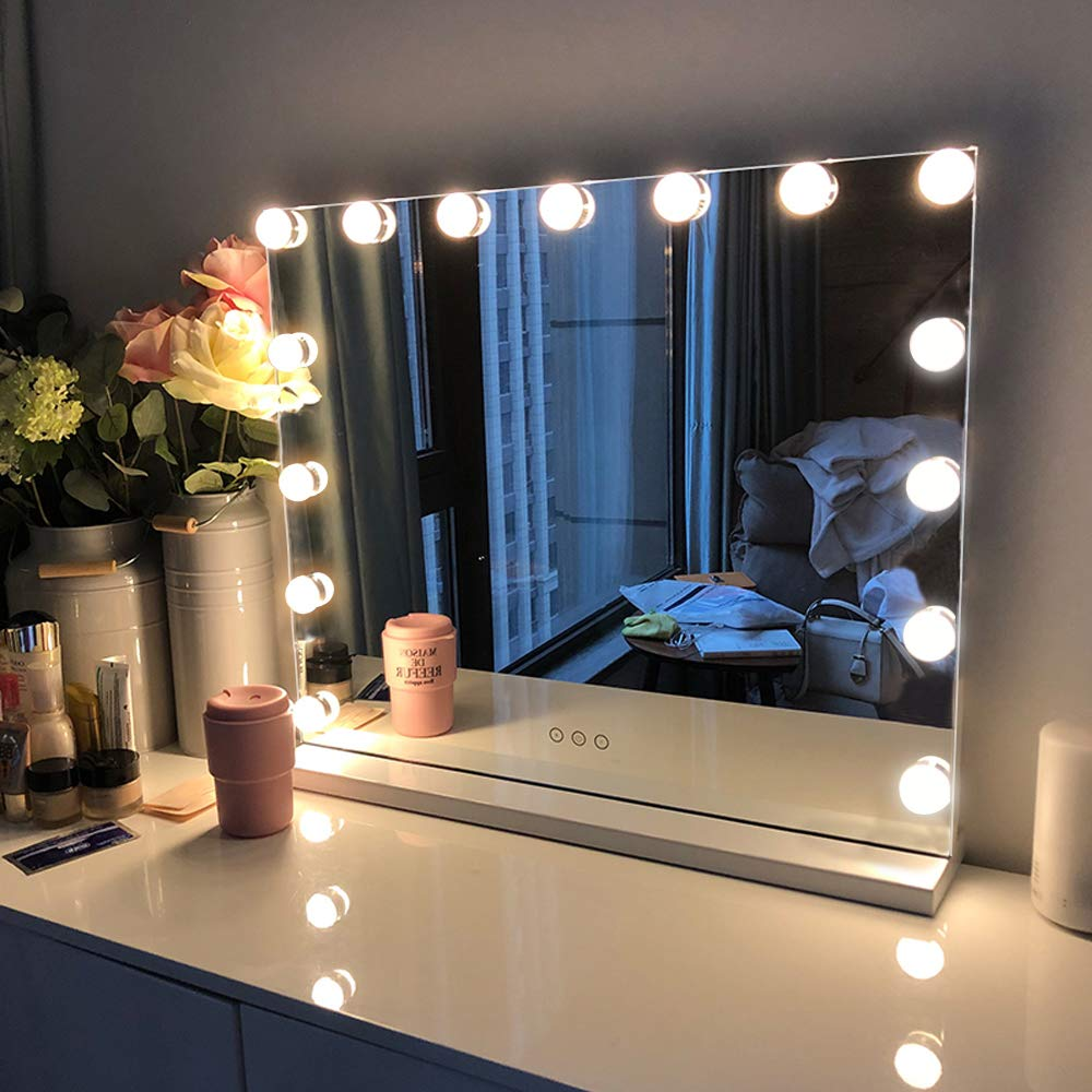 Picture Frame Light Up Vanity Mirror