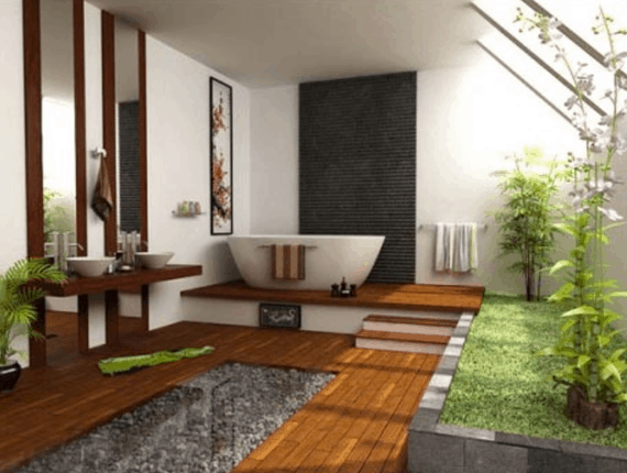 Nature Plant in your Asian Decoration Design