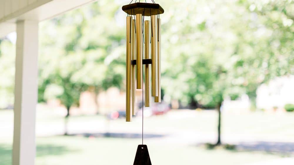 Try out an Ornamental Wind Bell