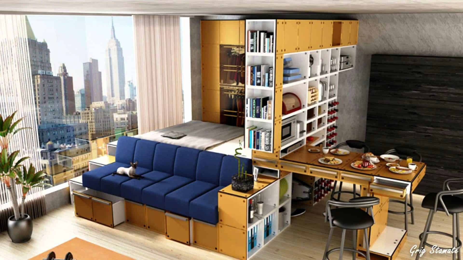 Top 5 Best Ideas for Turning Your Living Room into a Bedroom