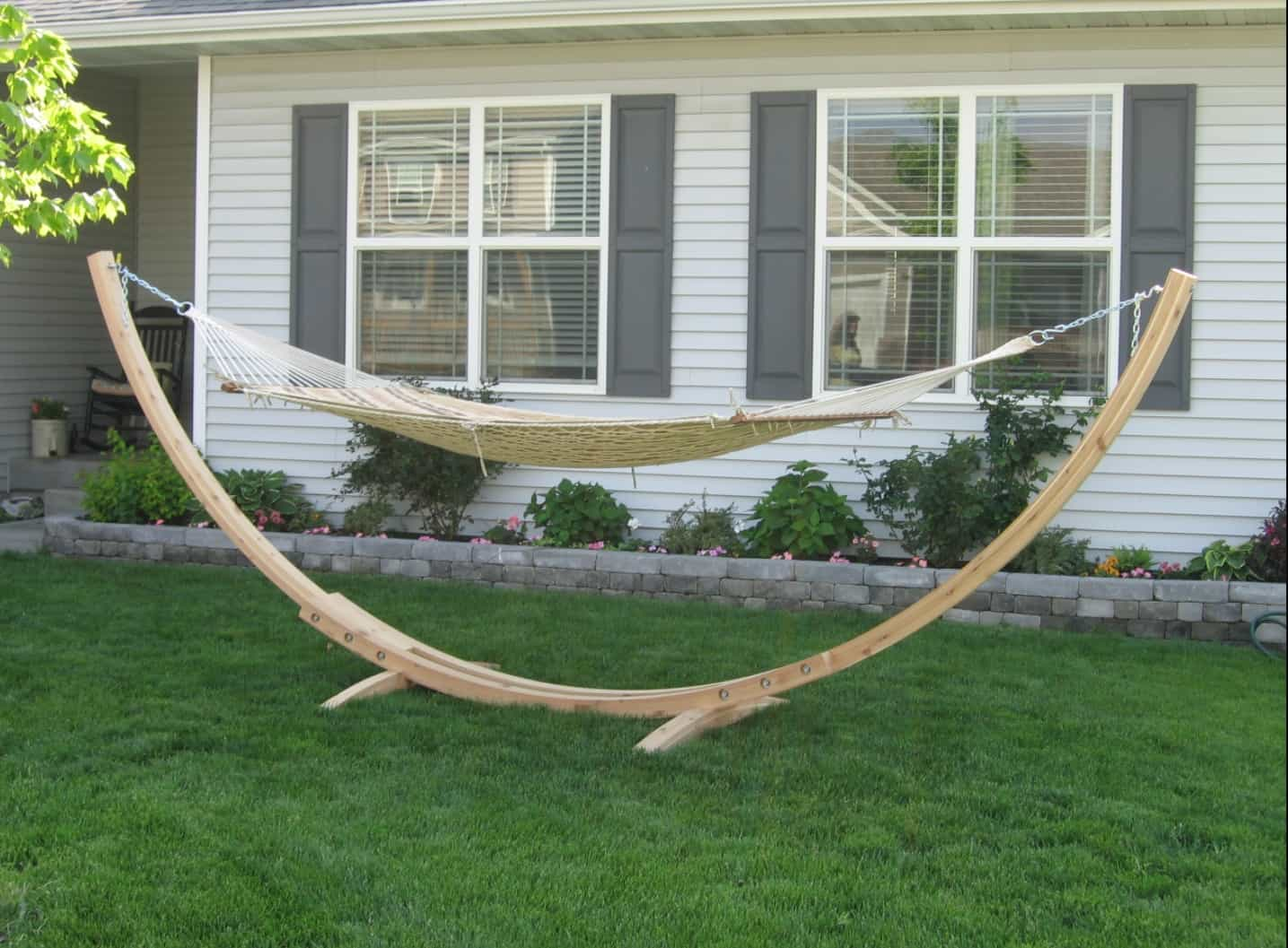 Wooden Hammock Stand Plans