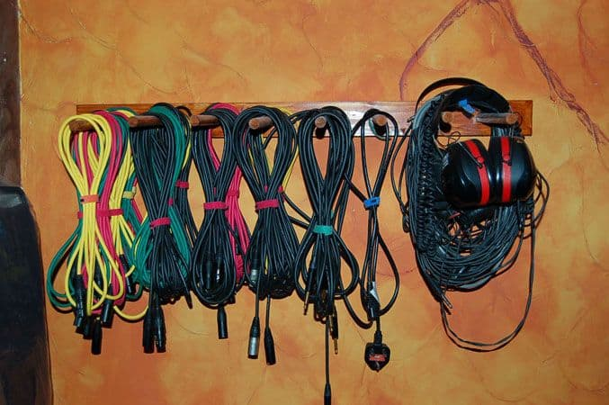 cable storage rack