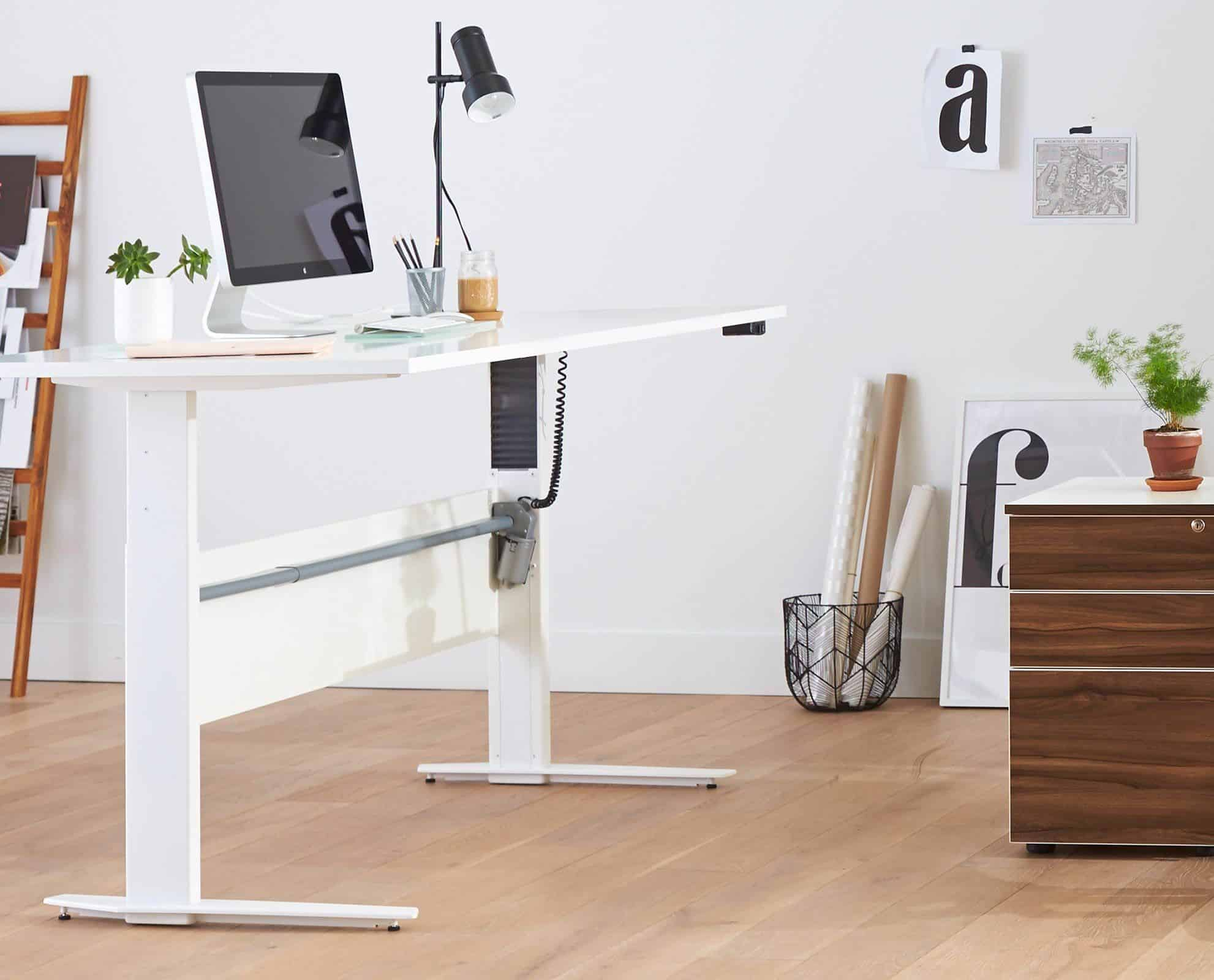 Stack Sit and Stand Adjustable Desk