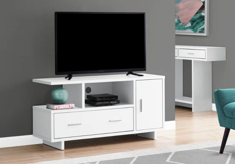 TV Stage With Storage Space
