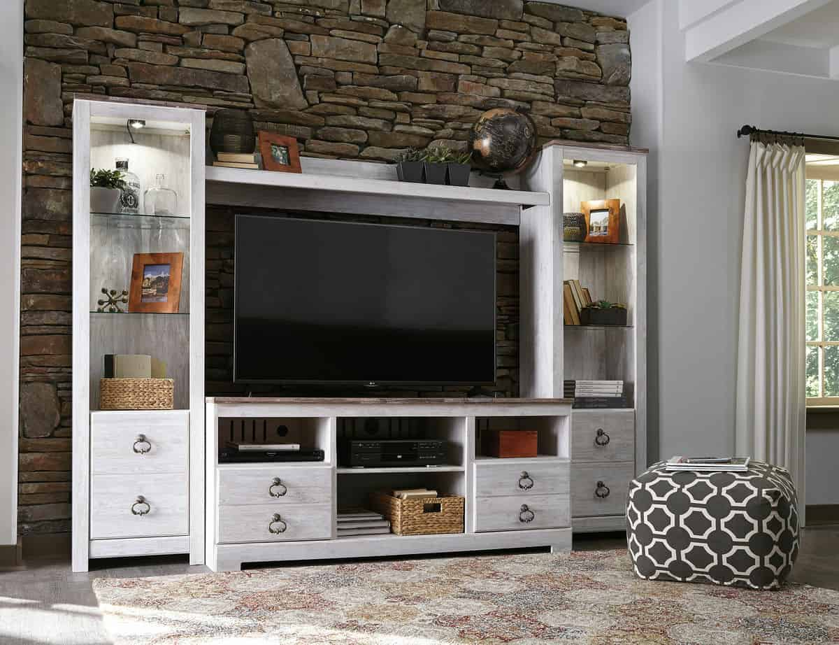 Tall TV Stand For Living Room