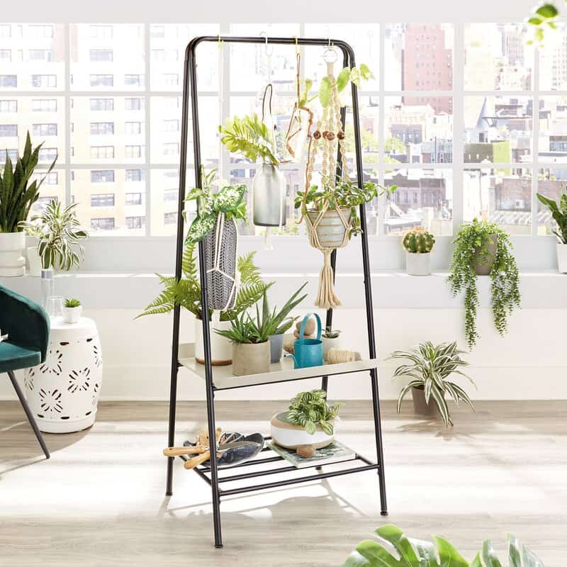 DIY Hanging standing Plant Stand