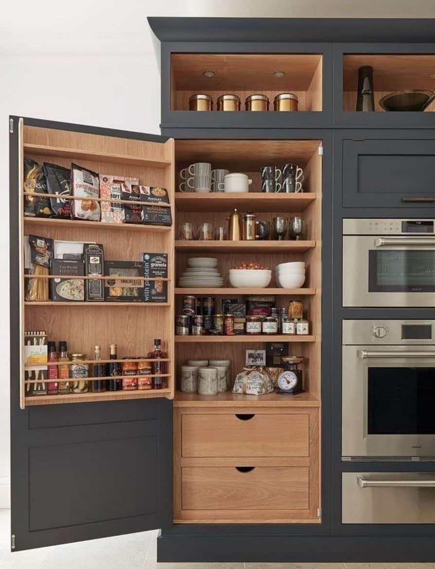 DIY Kitchen Cabinet Display Case