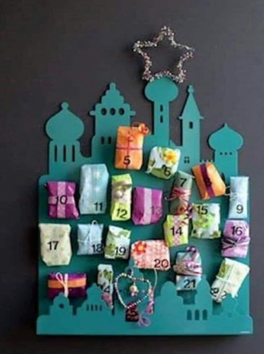 DIY Mosque Silhouette For Kids Decorations