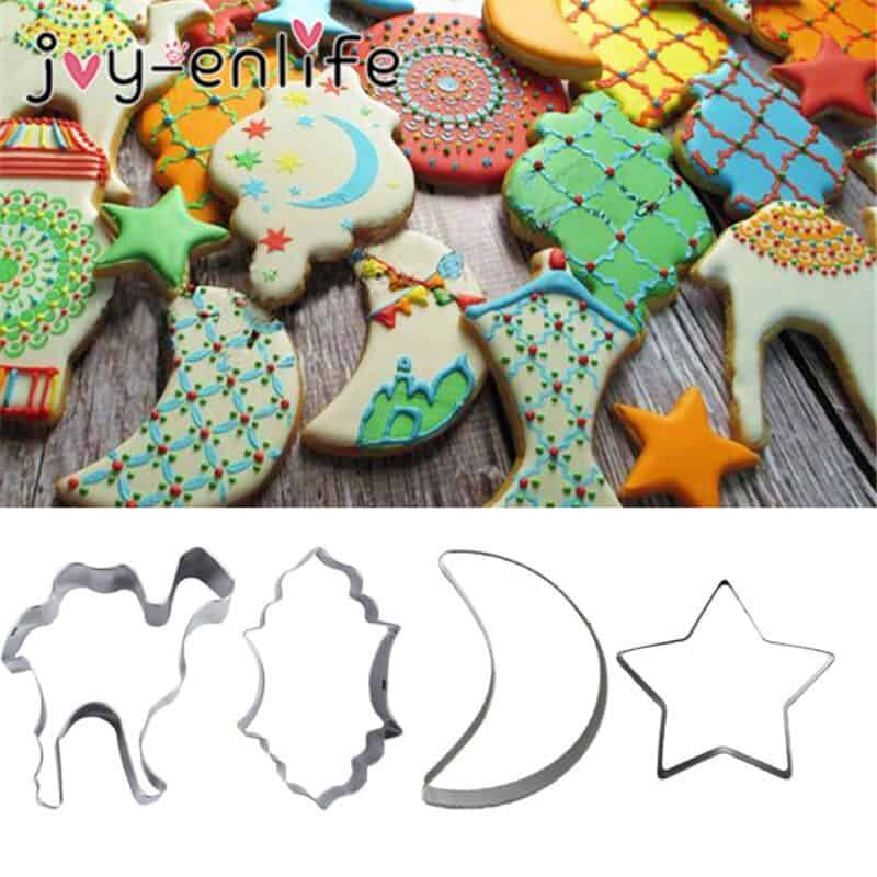 DIY Shaped Biscuits Decorations