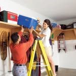 Top 20 DIY garage shelves