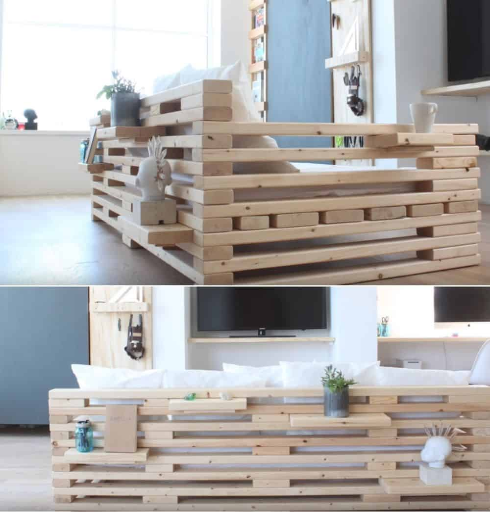 DIY Airy Frame Couch