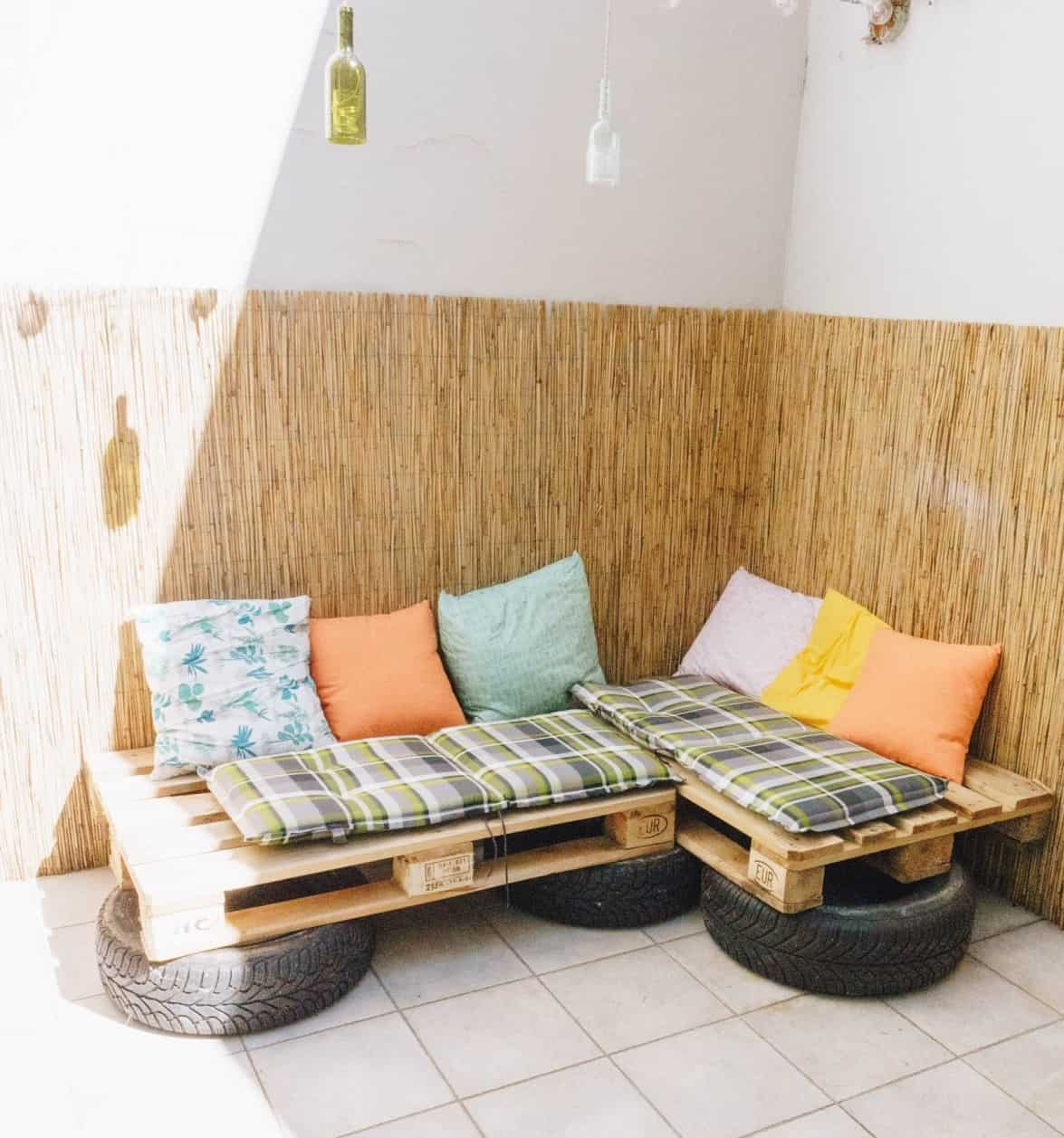 DIY Casual Tires Couch