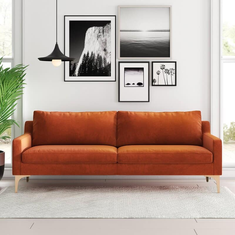 DIY Copper Frame Couch