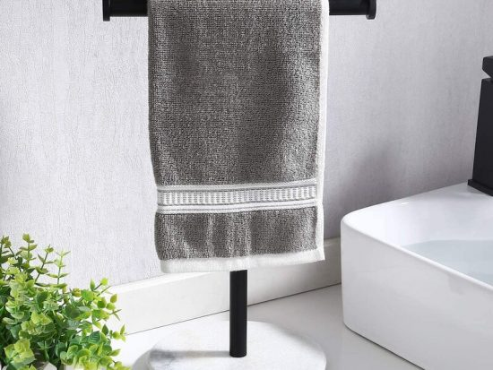 DIY Decorative Frame Towel Holder