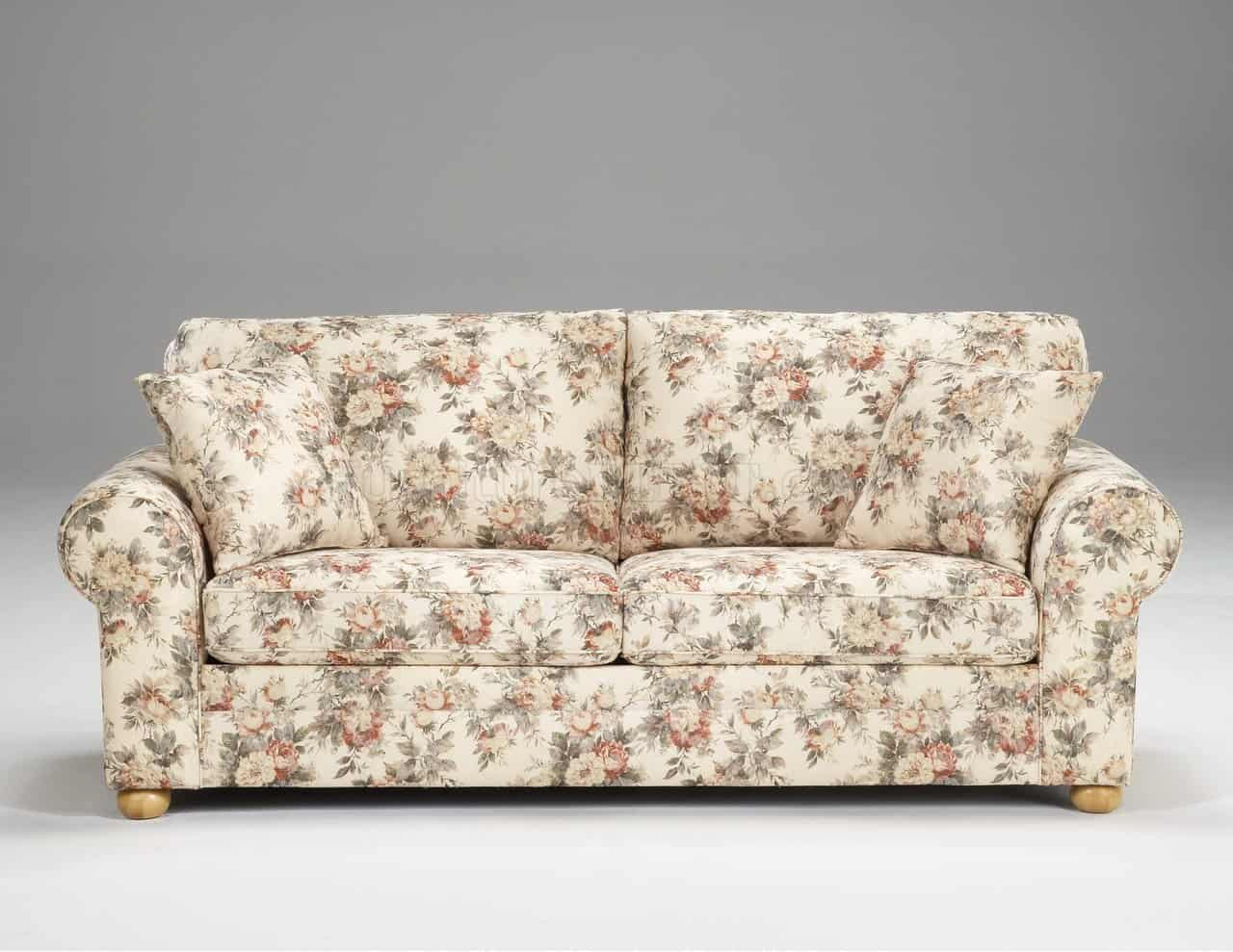 DIY Floral Couch