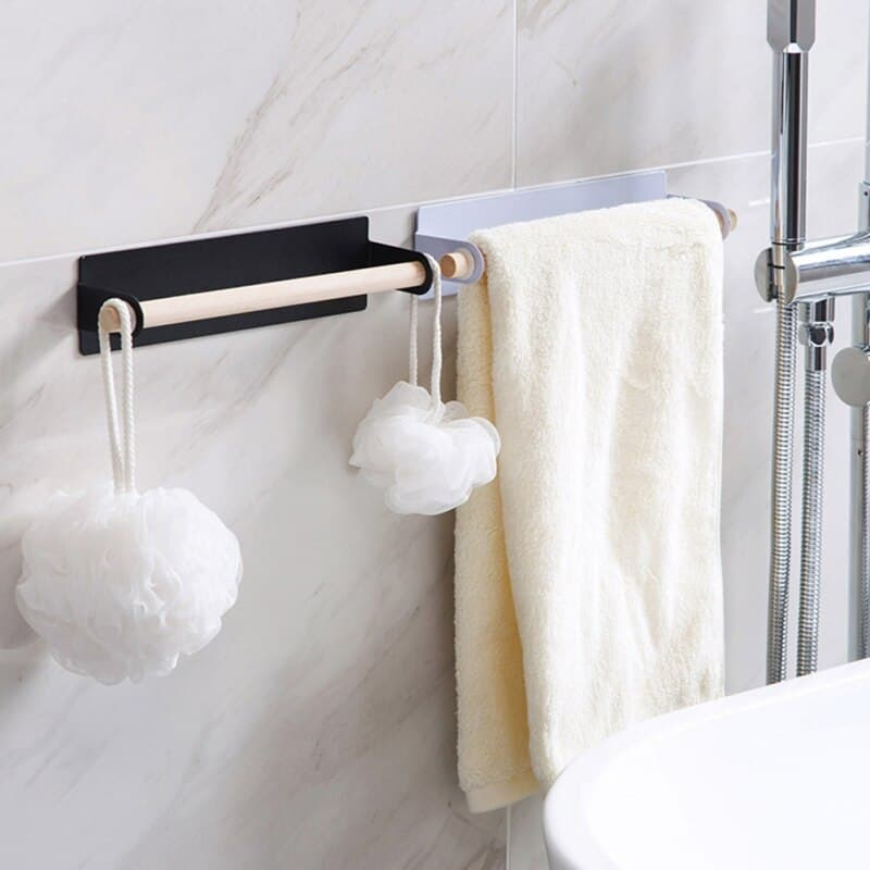 DIY Frame Towel Rack