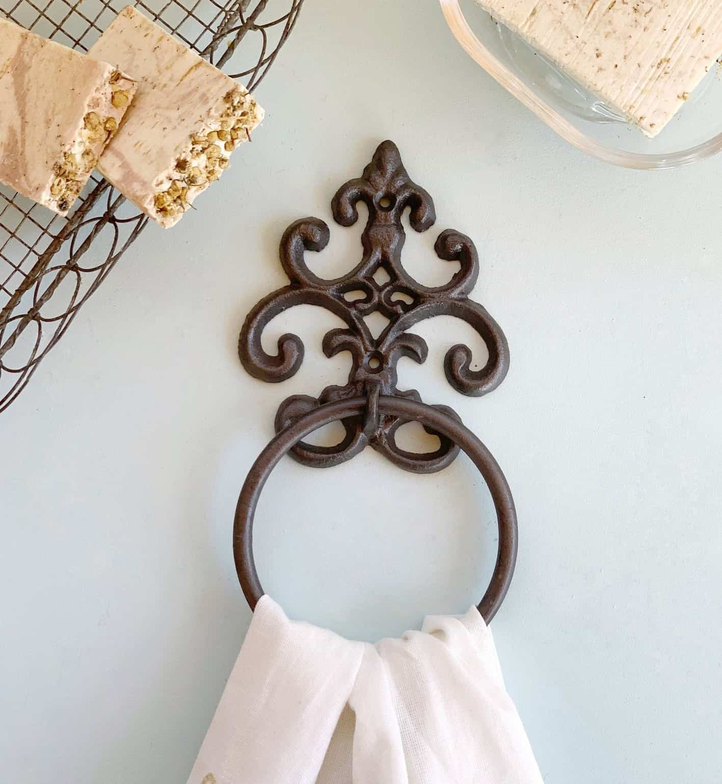 DIY Hand Towel Ring
