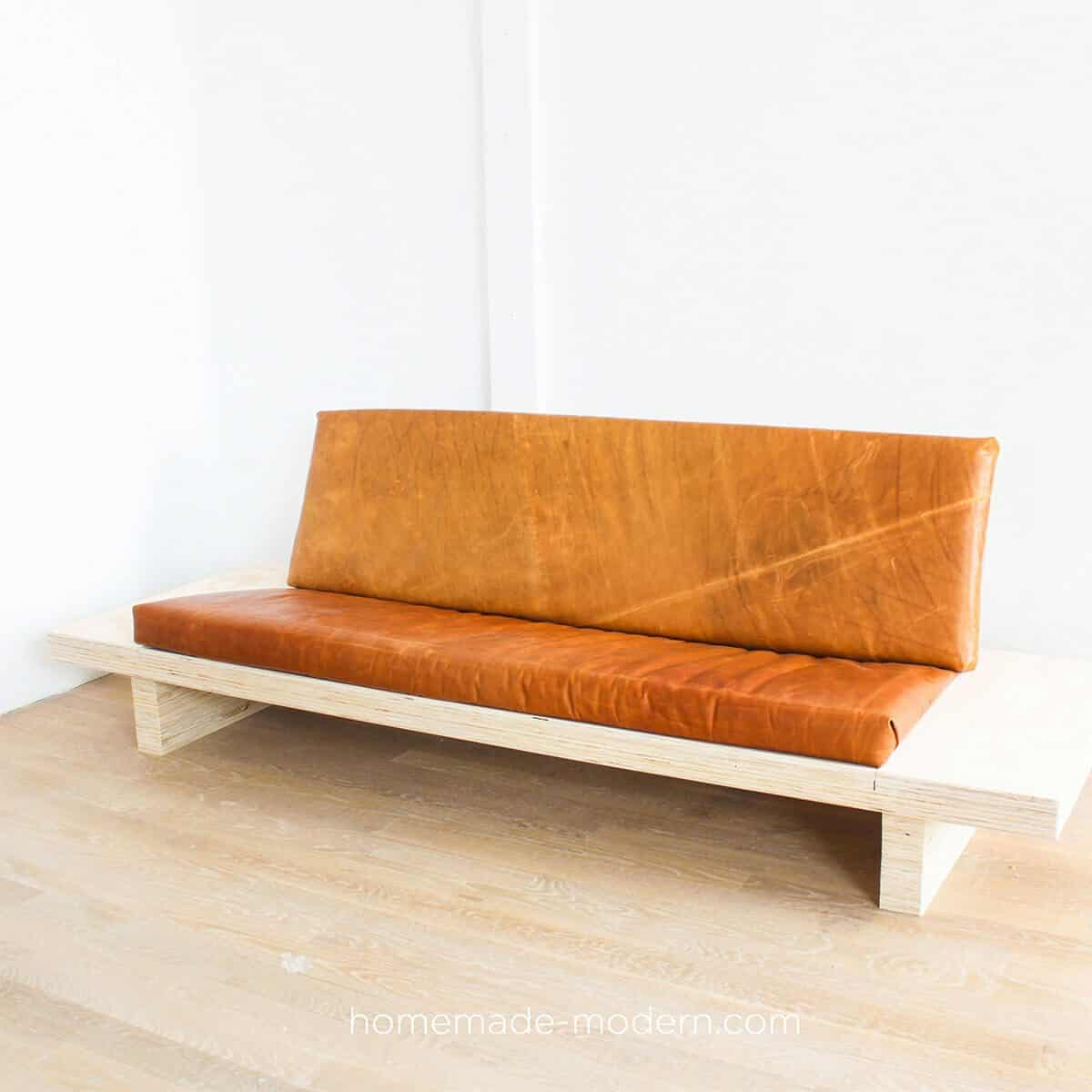 DIY Plywood Couch