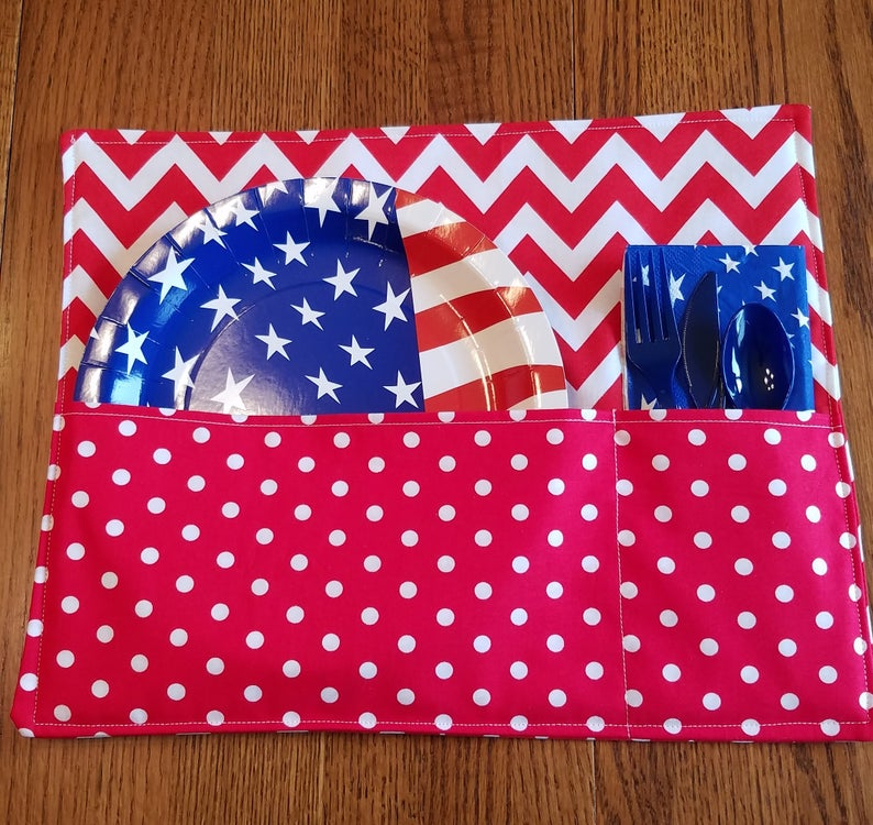DIY Pocketed Placemats