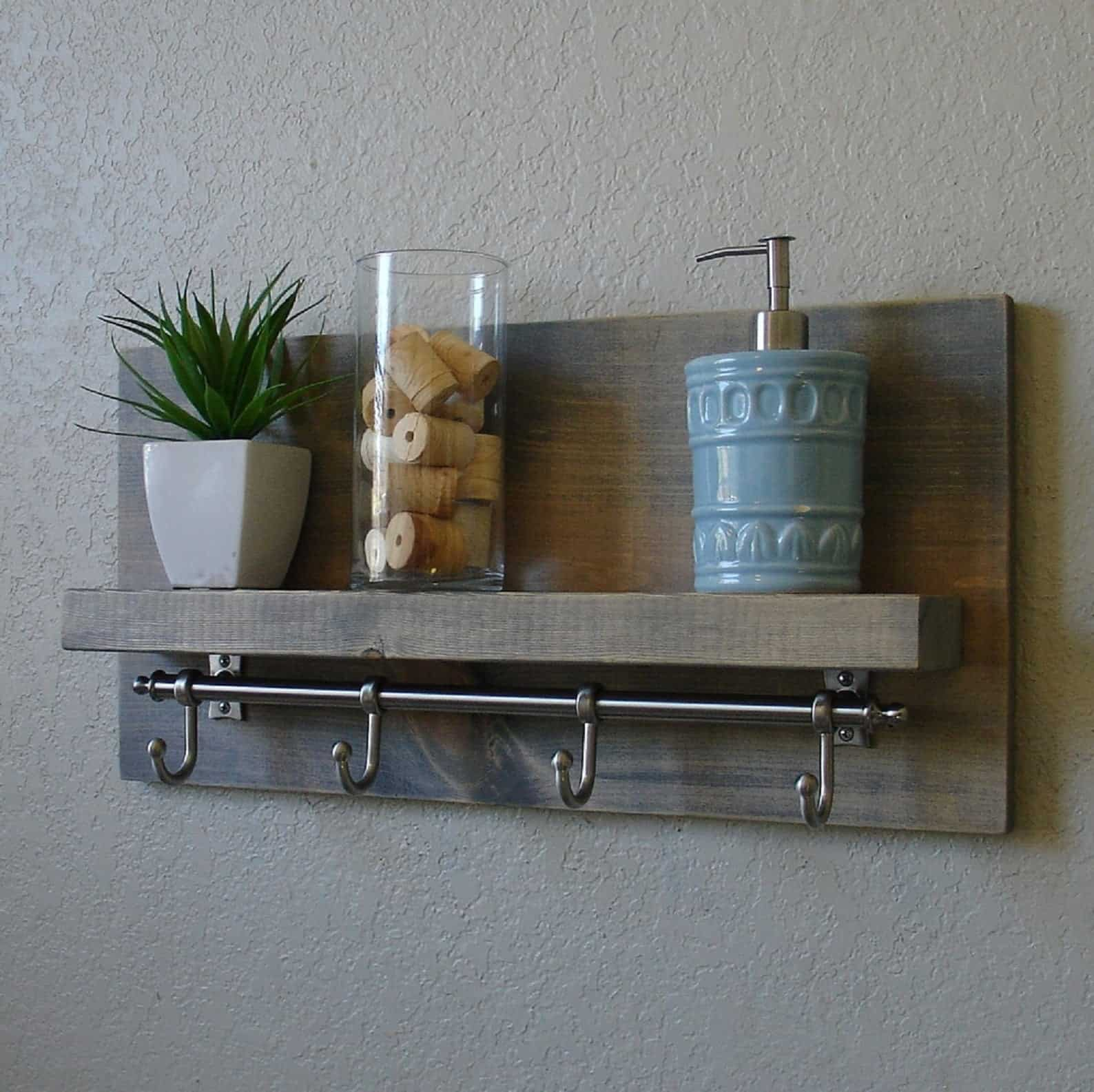 DIY Shelf Rack Tutorial