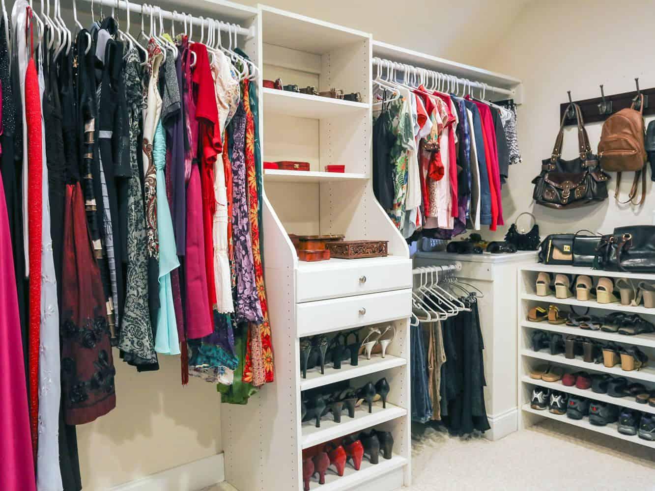 Daily Outfit Hanging Closet