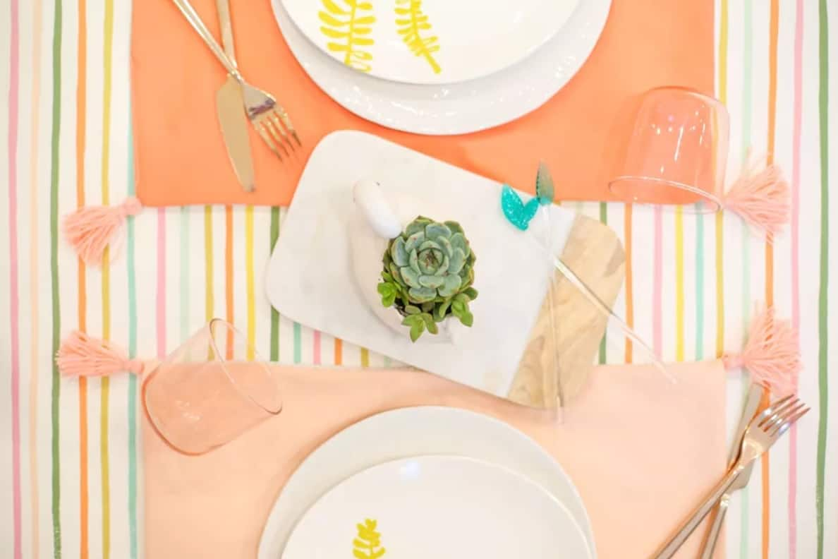 Reversible Placemats with Tassels