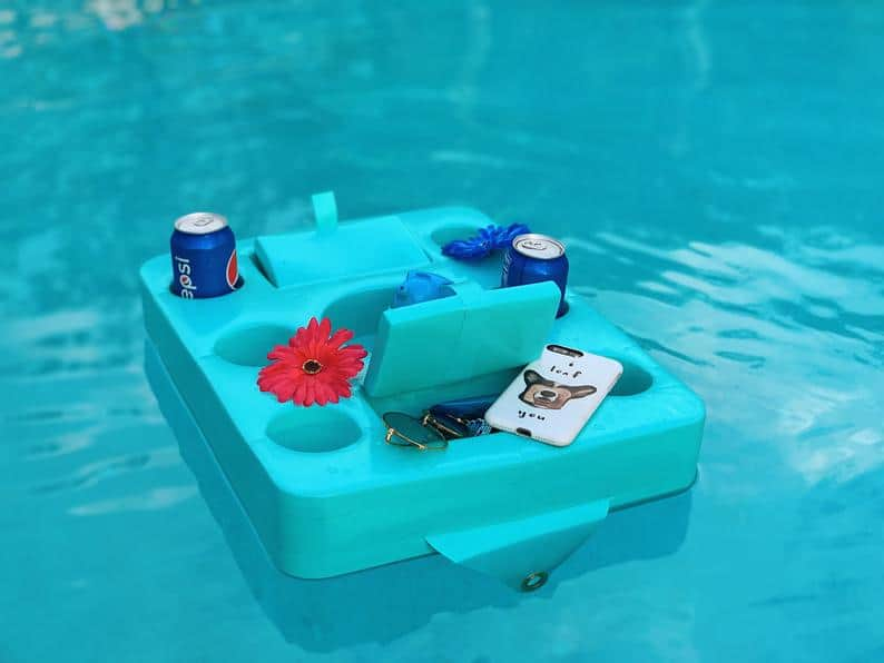 DIY Poolside Drink Float