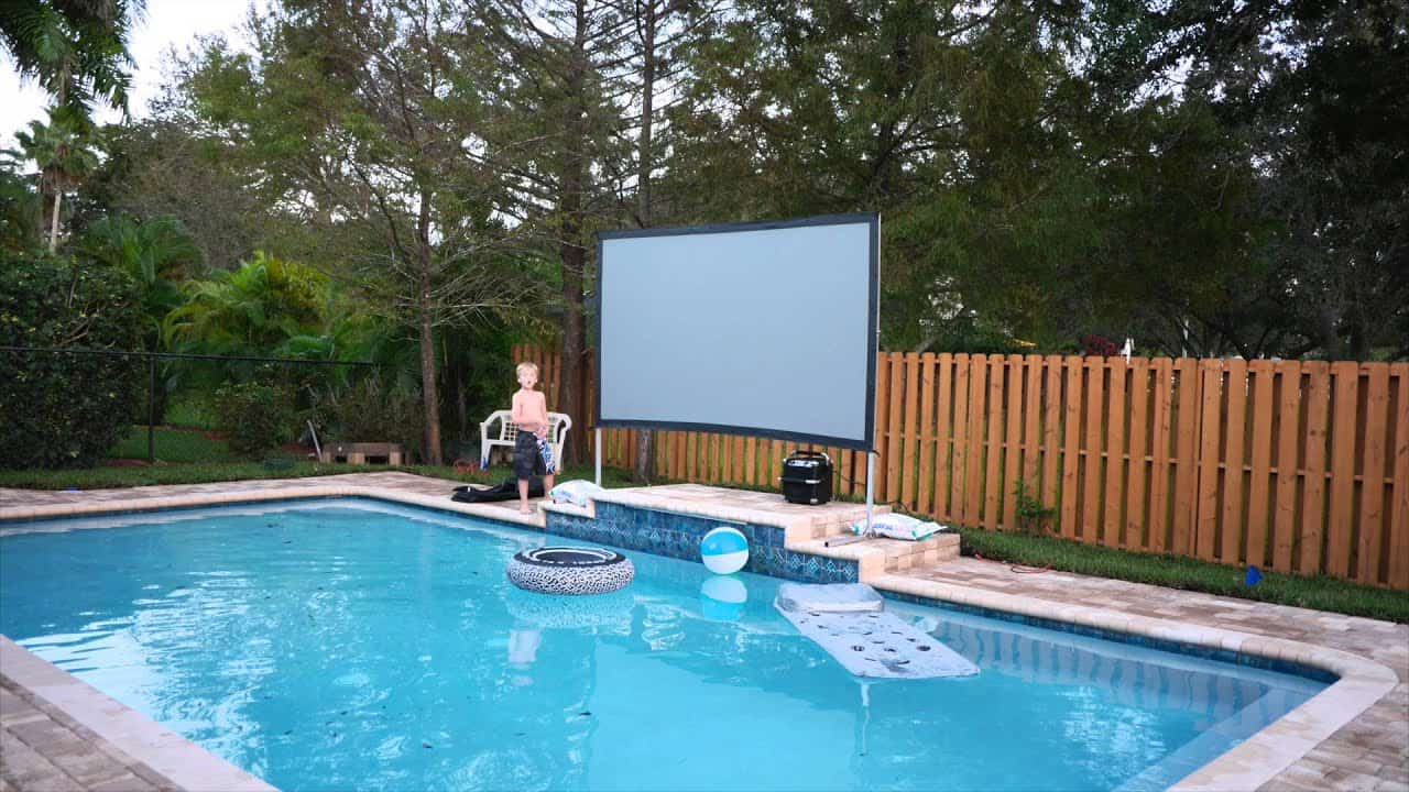DIY Poolside Theatre