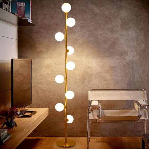 DIY Floor Lamp Without Lampshade