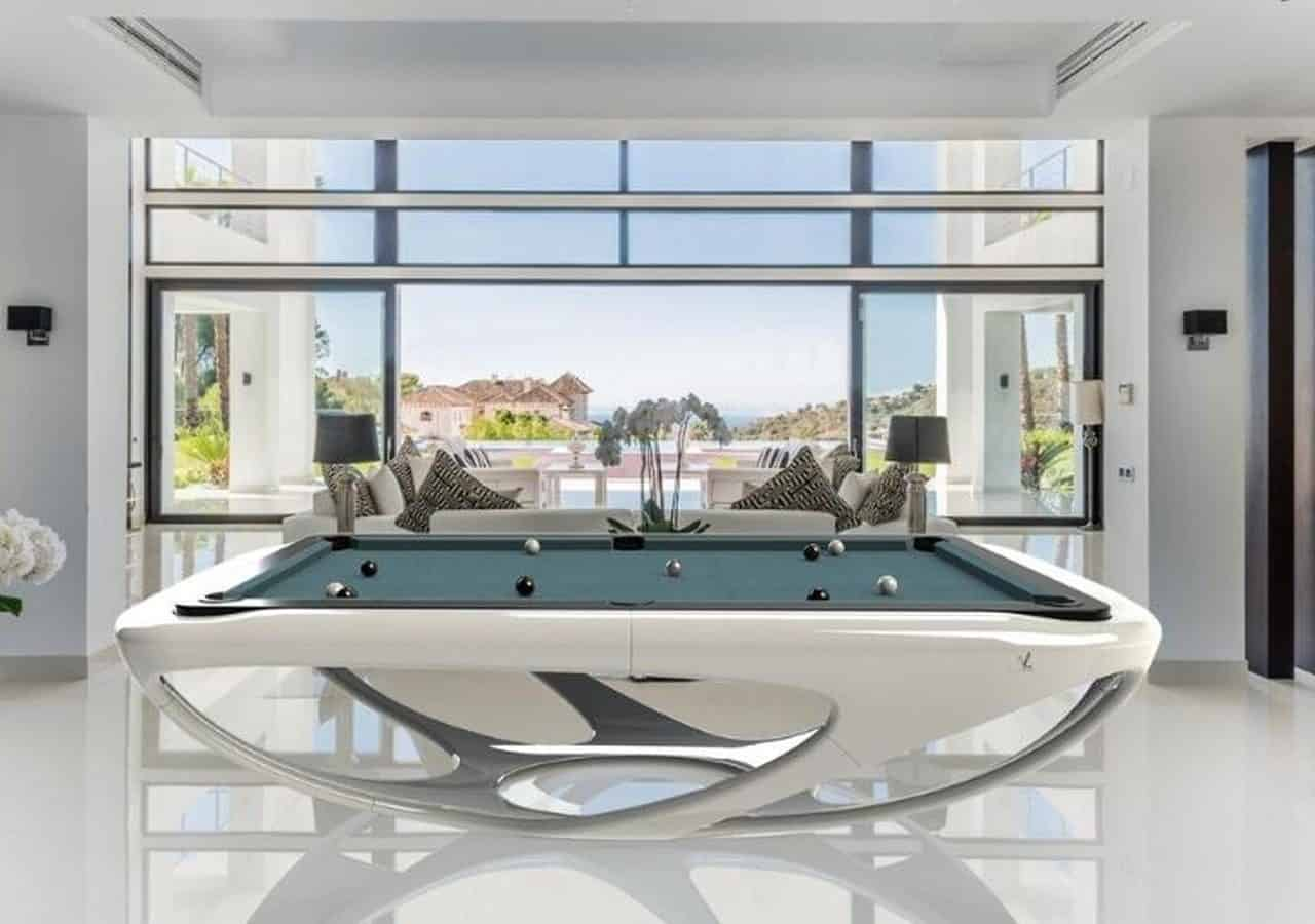 DIY The Designer's Test Pool Table