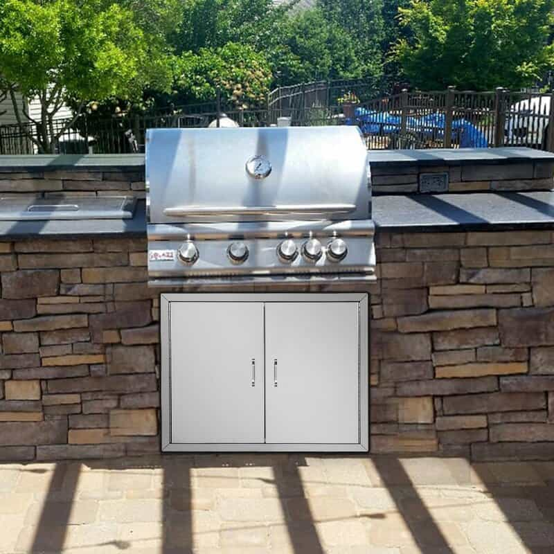DIY built-in Grill Station