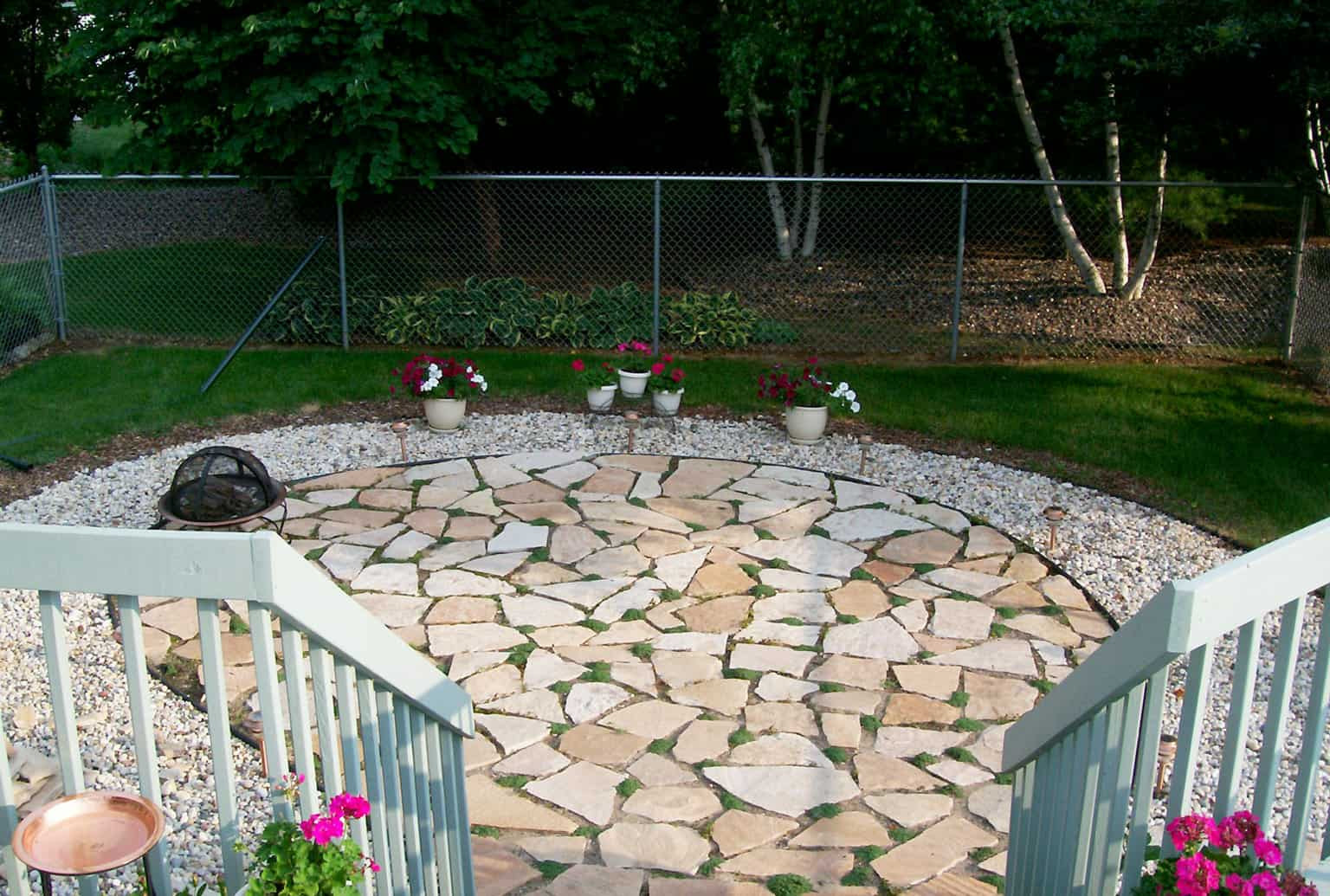 A Weekend DIY Flagstone Patio Project
