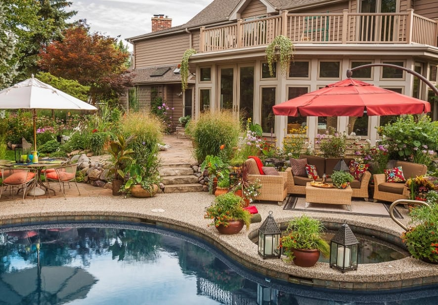 Add a Pool to Your Patio